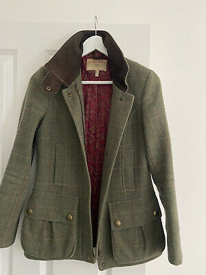 £43 • Buy Joules Field Coat Tweed Size 8 Very Good Condition
