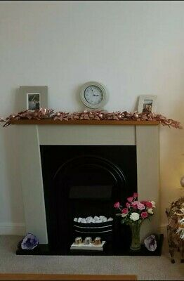 £200 • Buy Beauitful Hard To Find Next Hartford Painted Grey Electric Fire Suite Discontinu