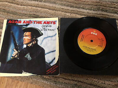 """£2 • Buy Adam And The Ants Stand And Deliver 7"""" Vinyl Single 1981 CBS Recordd"""