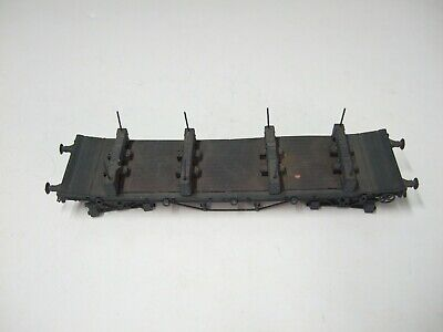 £8.50 • Buy ABS 4mm Scale OO/EM/P4 GWR Bogie Bolster Wagon Part Built