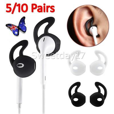 AU8.95 • Buy 5-10 Pairs Silicone Ear Hooks Skin Cover For Apple AirPods AirPod Headphones OZ