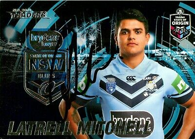 AU29.99 • Buy ✺Signed✺ 2019 SYDNEY ROOSTERS NRL Card Premiers LATRELL MITCHELL State Of Origin