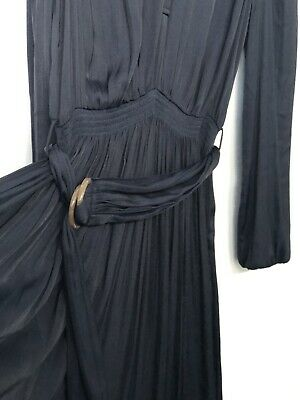 AU15 • Buy Witchery Dress Navy Excellent Condition