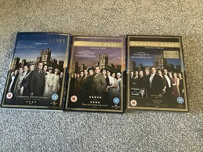 £4 • Buy Downtown Abbey Series 1-3 DVDs