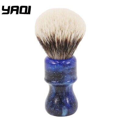 £19.99 • Buy Yaqi 24mm Two Band Badger Mysterious Space Coloured Handle Shaving Brush.