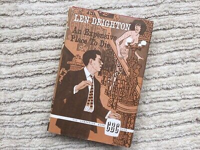 £5 • Buy Vintage 67 Expensive Place To Die Hardback Book, Dust Jacket Deighton 1stedition