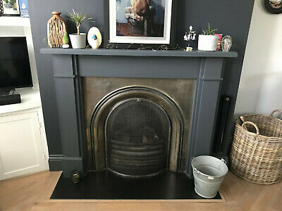 £60 • Buy Cast Iron Fireplace With Made To Measure Fireguard