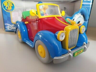 £34.75 • Buy 1:18 Scale - Disney Donald Duck 313 Car. Boxed
