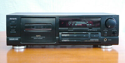 £75 • Buy Aiwa AD-S750 Stereo Cassette Deck Hi-Fi Player Recorder Dolby B/C/S NR *NEW BELT