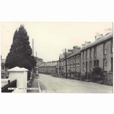 £7.50 • Buy TALIESIN Village Main Street, Cardiganshire RP Postcard By Frith Unposted