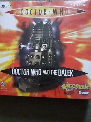 £4 • Buy Doctor Who And The Dalek - Spinomatic Board Game