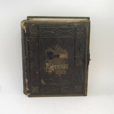 £14.99 • Buy Eyre & Spottiswoode Holy Bible & Family Register Antique Hardcover Loose Boards