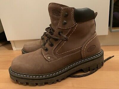 £17 • Buy NEW MENS BROWN WINTER WORK ANKLE FUR LINED BOOTS SHOES  SIZE Uk 6.5