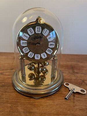 £40 • Buy Vintage 400 Day Anniversary Clock By Haller Germany Glass Dome C:-1950s GWO….
