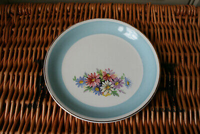 £4.99 • Buy Single Vintage Delphatic China By Barratts Tea / Side Plate 6.75  Blue & Flowers