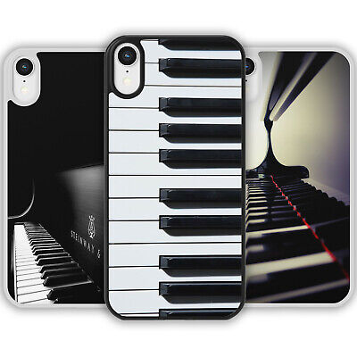 £6.39 • Buy GRAND PIANO Keyboard Keys Phone Case Cover For IPhone Samsung Music Player Notes