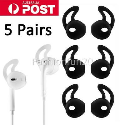 AU8.95 • Buy 5 Pairs Airpods Earpods Ear Hook Cover For Apple Earbuds Ear Tips Silicone NEW