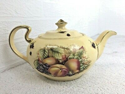 £419.99 • Buy Aynsley Orchard Gold Fine Bone China Teapot Made In England Collectable Teapot