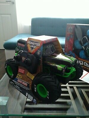 £36 • Buy Monster Jam Truck Grave Digger With RC 1:15 Kids Remote Controlled Toy Trucks