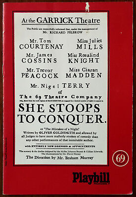 £6.72 • Buy She Stoops To Conquer By Oliver Goldsmi, Garrick Theatre Programme 1969 + Insert