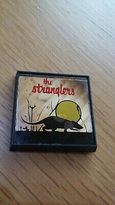 £5.50 • Buy The Stranglers Vintage Early 1980s Mirrored  Badge Pin Button Punk