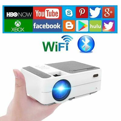 £219.99 • Buy Full HD Smart Projector WiFi Portable Home Theater Movie Game Airplay For IPhone