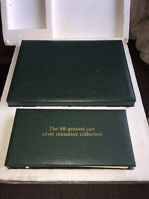 £285 • Buy 1975 John Pinches **100 Greatest Cars** 160g .925 Silver Miniature Collection