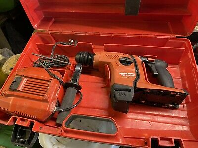£245 • Buy Hilti TE6-A36 AVR Cordless SDS Hammer Drill Chisel Action + Fast Charger  2016