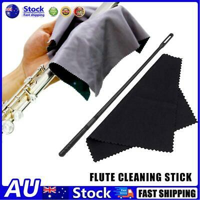 AU9.09 • Buy AU Flute Cleaning Kit 14 Inch Plastic Cleaning Rod With Random Color Cloth