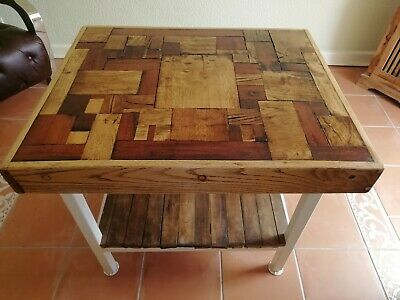 £250 • Buy Butchers Block Style Kitchen Table Island Hand Made One Off