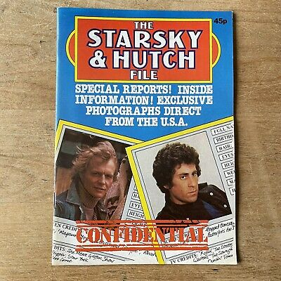£4.99 • Buy Starsky And Hutch Magazine File Confidential