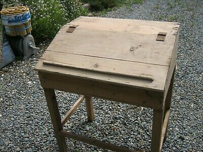 AU90 • Buy Antique Shearing Shed Hand Piece/comb-cutter Cupboard