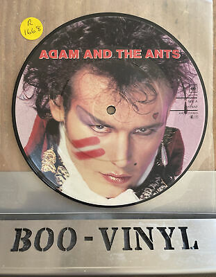 £11.99 • Buy Adam And The Ants 'Antrap' 1981 7  Vinyl Picture Disc Nm Condition