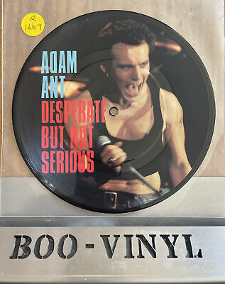 """£11.99 • Buy Adam And The Ants Desperate But Not Serious Picture Disc 7"""" Nm"""
