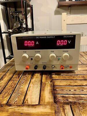 £46 • Buy Variable DC Power Supply 0-30V 0-5A - Adjustable Bench Power Supply With Test