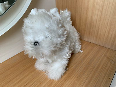 £4.90 • Buy Harrods West Highland White Westie Terrier Dog Soft Toy Animated Not Working