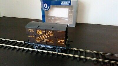 £14.50 • Buy DAPOL O Gauge GWR Conflat Wagon And Container - Weathered