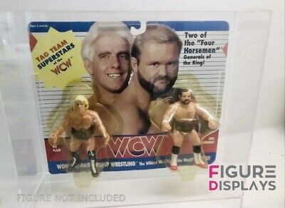 £22.99 • Buy Wcw Acrylic Display Case🔥galoob Action Figures Tag Team (case Only)wwf Hasbro