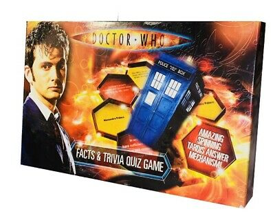 £4.99 • Buy BBC Dr Who Doctor Who Facts And Trivia Quiz Game With Amazing Spinning Tardis