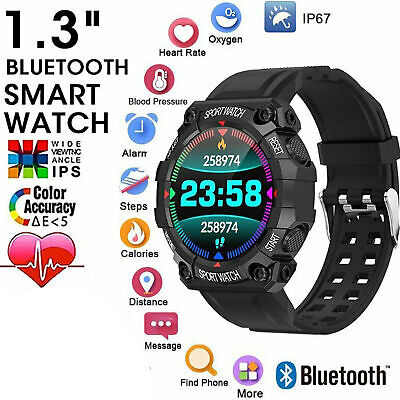 AU14.22 • Buy Waterproof Bluetooth Smart Watch Phone Mate Fitness Tracker For IPhone Android
