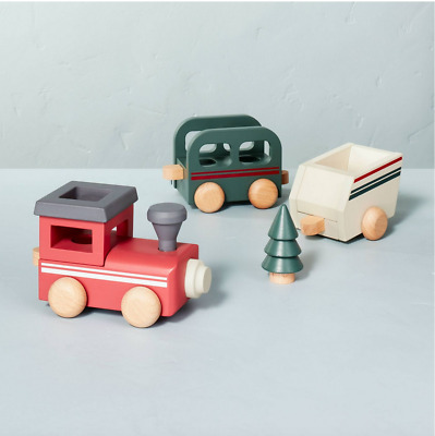 £33.39 • Buy Hearth & Hand With Magnolia 2021 Kids Toy Wooden Train Set New SHIPS NEXT DAY