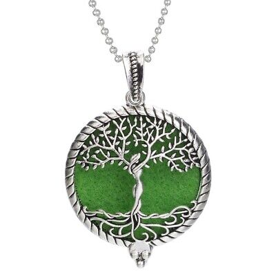 AU0.41 • Buy Aromatherapy Diffuser Necklace Vintage Open Locket Aroma Pendant Gift For Girls