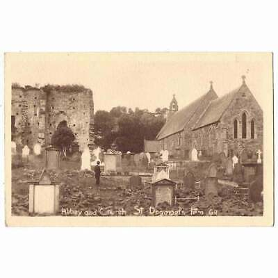 £5.95 • Buy ST DOGMAELS ABBEY & CHURCH Pembrokeshire Postcard By Squibbs, Unused