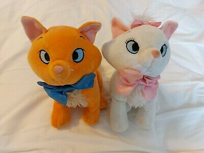 £15 • Buy Disney Store Aristocats - Marie And Toulouse Kitten Cat SMALL Soft Plush Toys 7