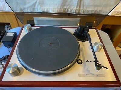 £450 • Buy Oracle Alexandria Turntable With Audio Technica AT-OC9 Cartridge - USED
