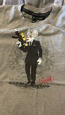 £5 • Buy Danger Mouse /Bond T-SHIRT BY CHUNK CLOTHING - Large