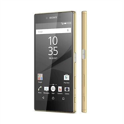 AU101.15 • Buy Sony Xperia Z5 E6653 Google Android Smart Mobile Phone 32GB Gold 5.2  Unlocked