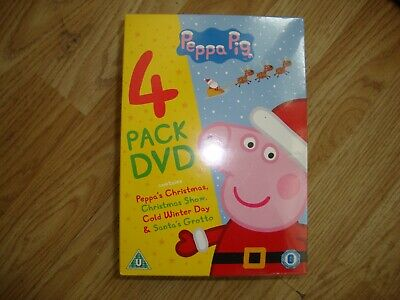 £9.99 • Buy Peppa Pig Collection 4 Pack DVD Box Set New/Sealed Over 10 Sold '''