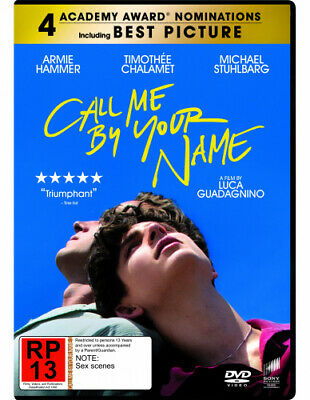 AU38.06 • Buy Call Me By Your Name  [Region 4] - DVD - Free Shipping. - New