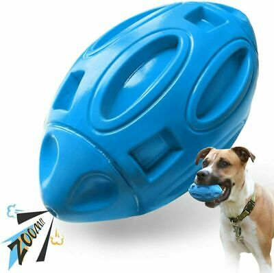 £8.99 • Buy Dog Toys For Aggressive Chewers Indestructible Outdoor Squeaky Dog Fetch Ball